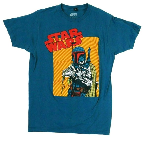 Star Wars Other - Star Wars Mens T Shirt Turquoise Colorful Mandalor